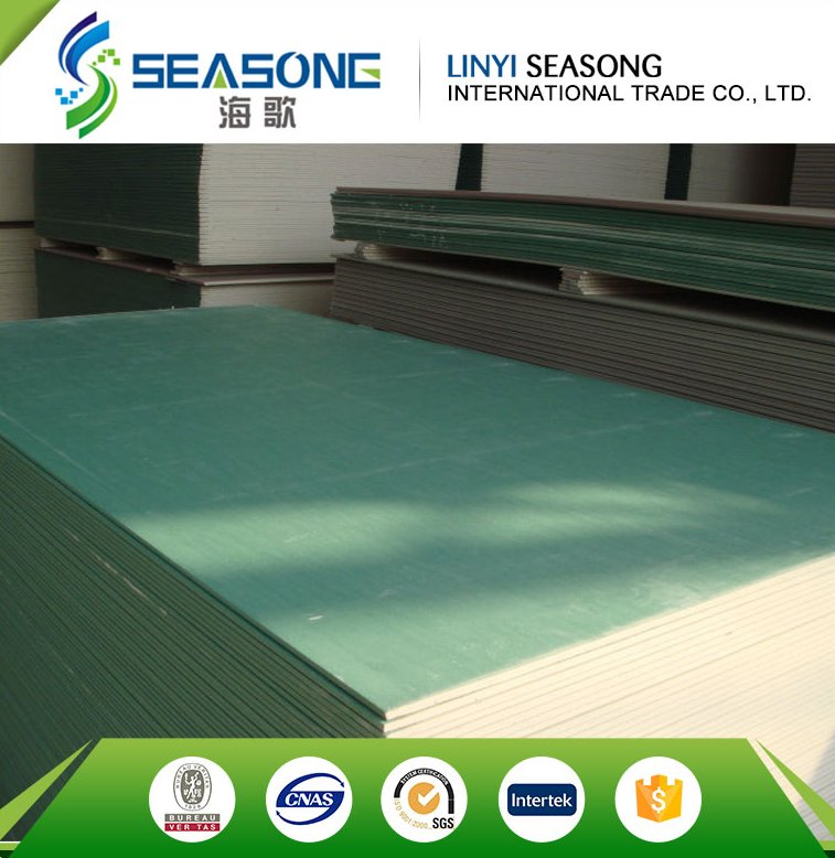 linyi trade assurance competitive price new design gypsum board\/plasterboard from factory for hot sale