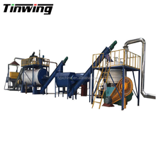 Rendering plant machine/ poultry waste processing line