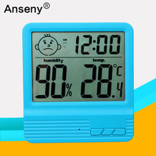 Easy to Read: Large Indoor Digital Thermometer and Humidity Meter. Display Works in Fahrenheit & Celsius. Simple Temperature & R