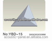 diamond shape acoustic foam panel/3d wall panel/PU foam wall panel hot sale