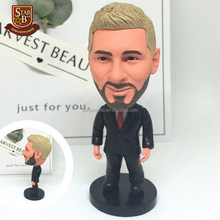 Football player Messi Suit Version Movable joints resin model kit action figures