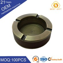 Wholesale custom standing metal cigar ashtray