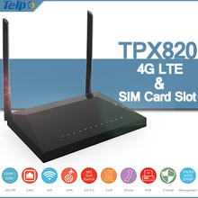 Excellent TPX820 LTE Modem 3G 4G Mobile WiFi Hotspot Wireless Router With SIM Card Slot