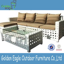 PE comfortable rattan luxury sofas outdoor furniture new design fashion