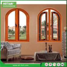 Villa Use Aluminum Swing Window Aluminum Casement Window Handle Aluminum Glass Window Assembly