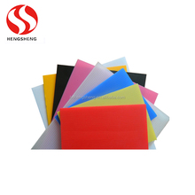 Free sample different size hard waterproof plastic sheet color pp 4x8 sheet plastic