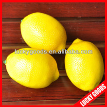 wholesale artificial lemon artificial fruit fake fruit for decoration