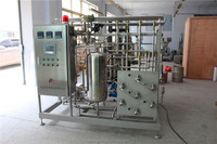 high efficient small beer plate pasteurizer