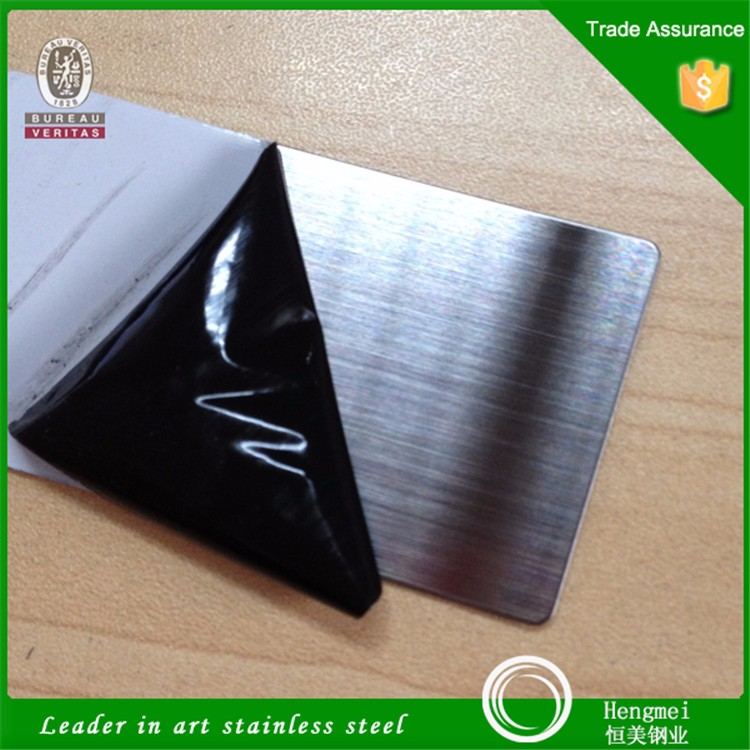 Famous brand large stock no. 4 brushed finish decorative stainless steel for building materials