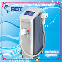 PZ LASER 808nm diode laser permanent hair removal system with strong semi conductor cooling for continuously hair removal