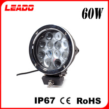 60W 7 Inch Supper bright LED auto work light for Off Road Car
