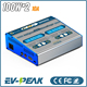 EV-PEAK CD1+ AC/DC Dual Balance Charger 100Wx2 10A NiMH/LiPo Battery Charger Twin-Channel Charger Discharger