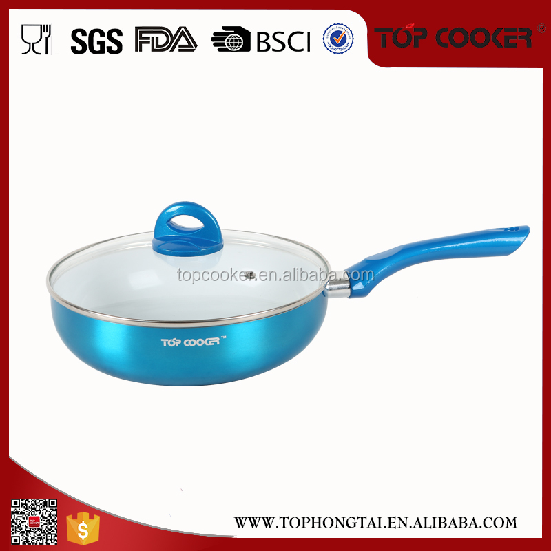 multi-purpose gas cooker mini ceramic coating wok pan