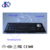 Electroplated black cherry keyswitch metal panel mount keyboard with trackball