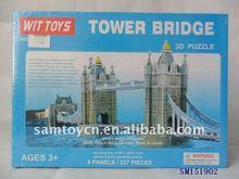 tower of London bridge puzzle British building puzzle 3D DIY toys
