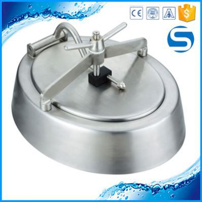 2016 Sanitary Tank Rectangular Manhole Cover For Machine For Beer