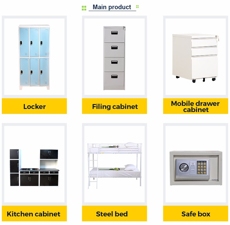 bedroom steel or iron almirah cupboard designs with drawer