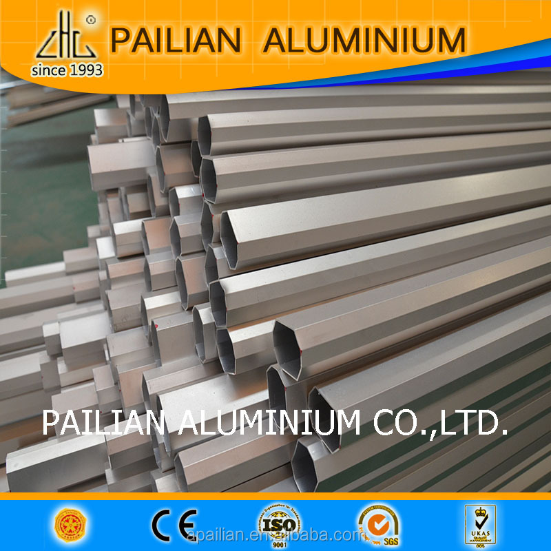 WOW!!new design of aluminum extrusion profile aluminum tube and pipes4 hign quality