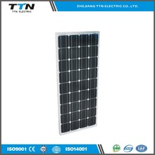 The most advanced 100w mini mono solar panel with CE/TUV certificate for home use