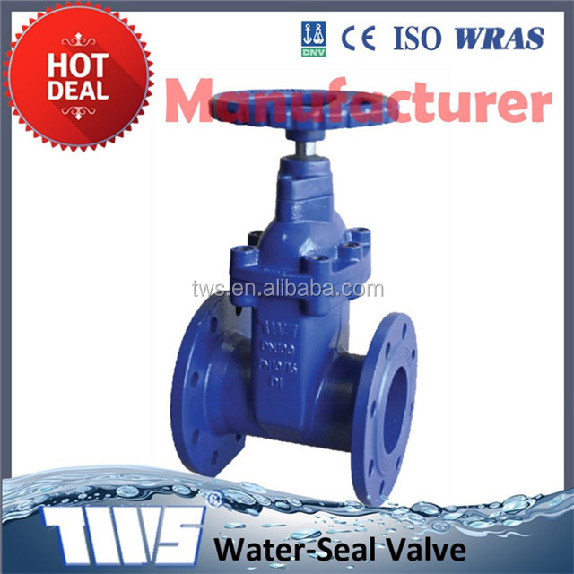 China made low price high quality DIN 3352 pn16 DN125 gate valves