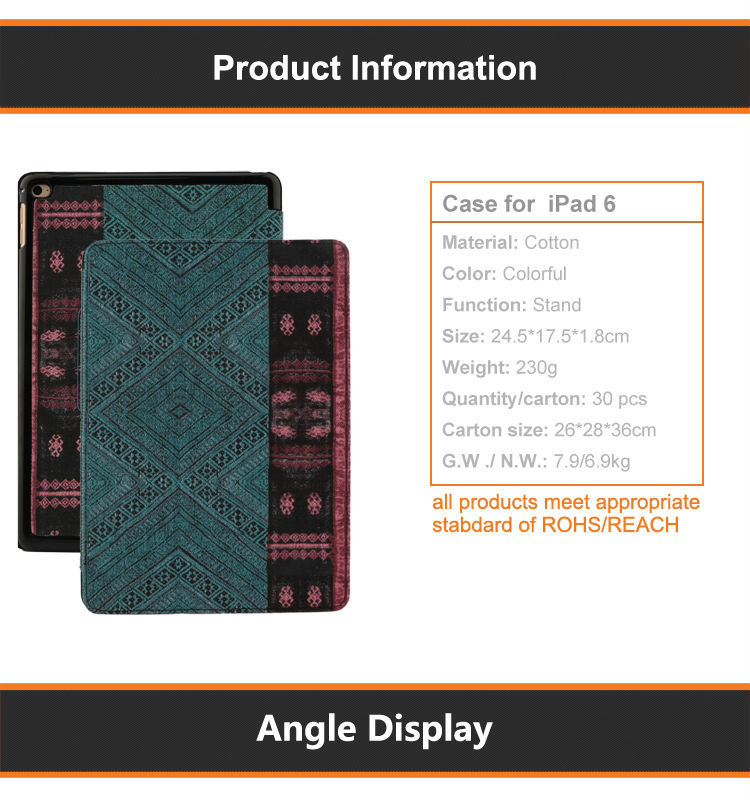 9.7 tablet keyboard case
