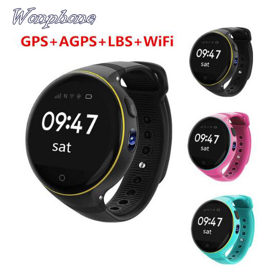 Wholesaler Newest Kids Smart Watch S668 GPS WIFI Camera Watches SOS Voice Chat Remote Monitoring