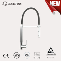 Mordern style high quality single handle UPC 61- 9 nsf kitchen faucet