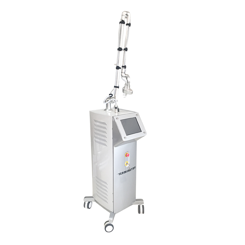 Two kinds of hand pieces Fractional equipment co2 fractional laser fractional co2 laser for vaginal tightening and scar removal