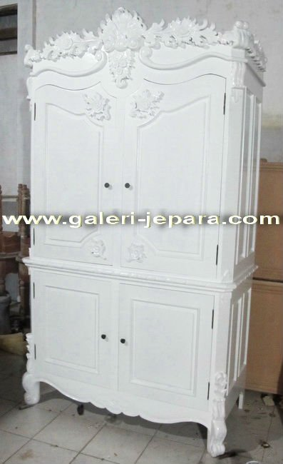 Armoire Furniture Mahogany - Armoire with Two Doors from Wood - Mirror Furniture Bedroom
