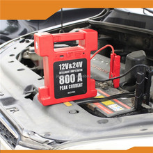 wholesale electric Lithium car battery auto jump starter 12v/24v for trucks