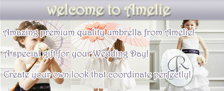 Paper Parasols Wedding Wholesale with White colors