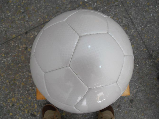 white football soccer ball 2012