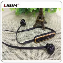 V 4.0 LY Flat Cable Sport Wireless Bluetooth Headset Earphone