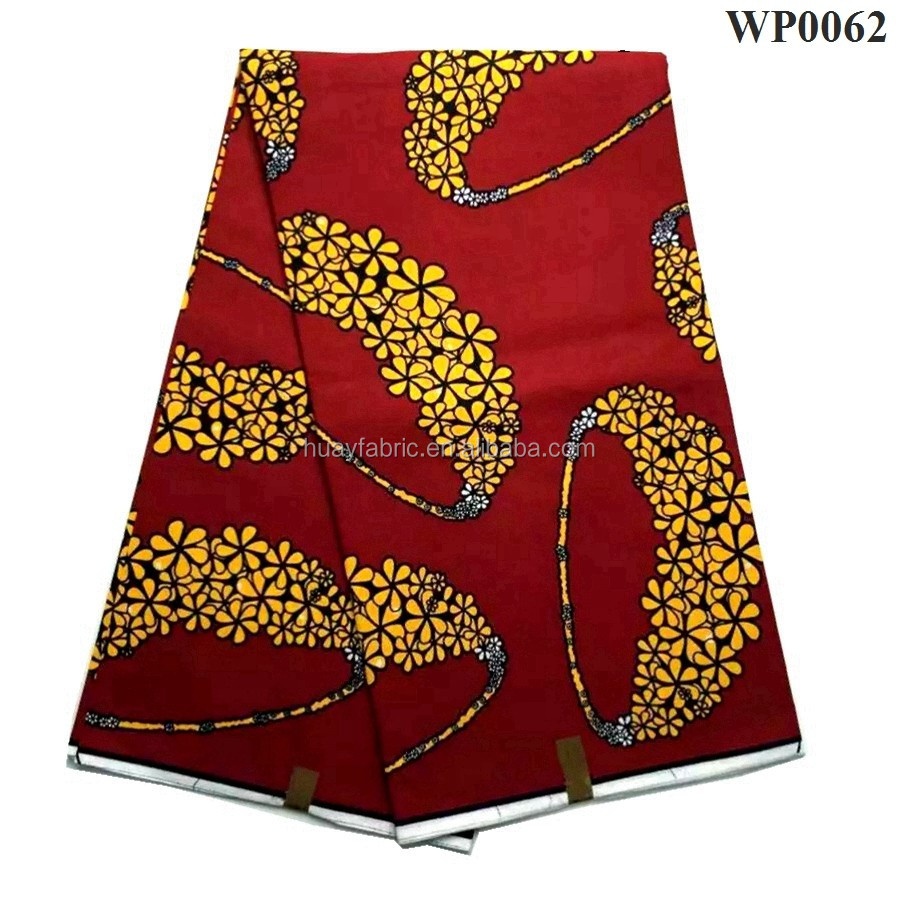 2016 Hot fashion super wax hollandais/African wax print fabric width 120CM 6 yards/wholesale african wax print fabric WP0062