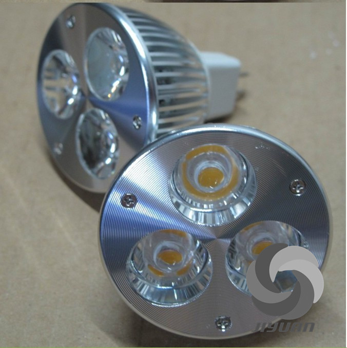 Intelligent circuit ensure security and steability led spotlight with gu10/mr16 6w led spot light