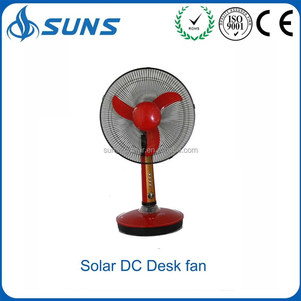 "Factory price 16"" DC 12v 15 w solar rechargeable oscillating rechargeable inverter electric remote control summer cool table fan"