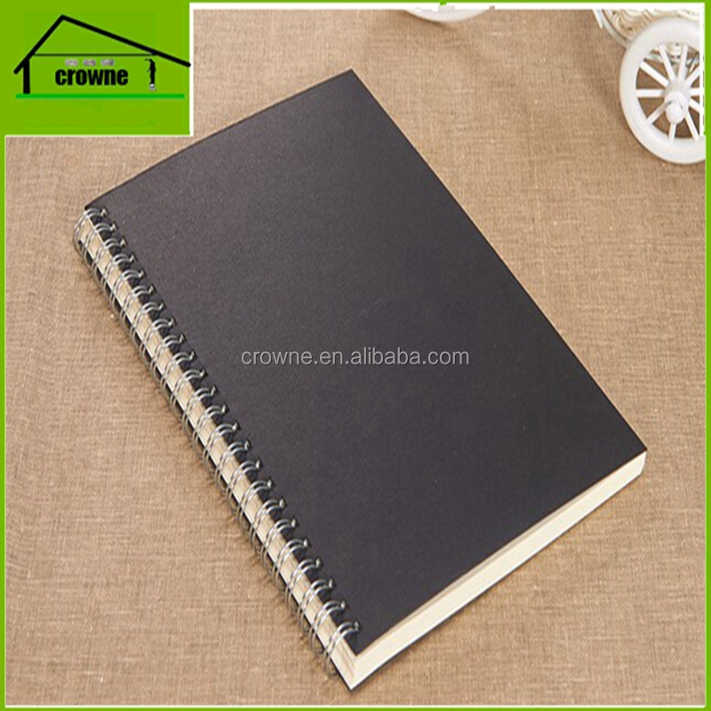 Promotional eco friendly notebook A4 A5 A6 spiral notebook