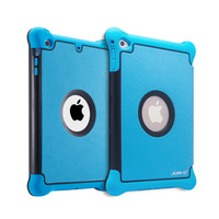Case for iPad mini2 pro9.7 leather protective cover silicone and leather case