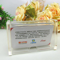 china supplier wholesale business card holder/acrylic desktop plastic card holder
