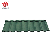 Soundproofing material corrugated stone coated metal roofing tile