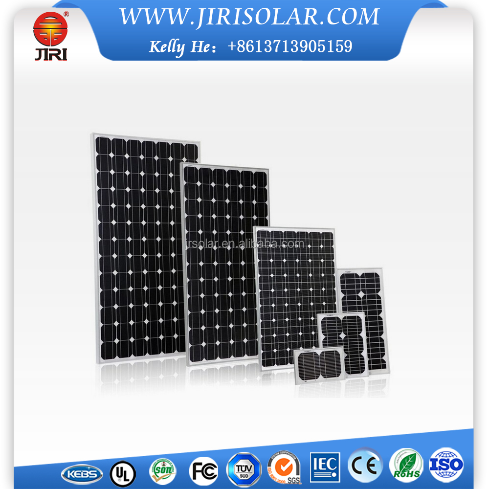 Off Grid System 100W HD Solar Panels For Mobile Homes