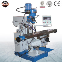 Hoston universal turret type knee type milling machine for sale