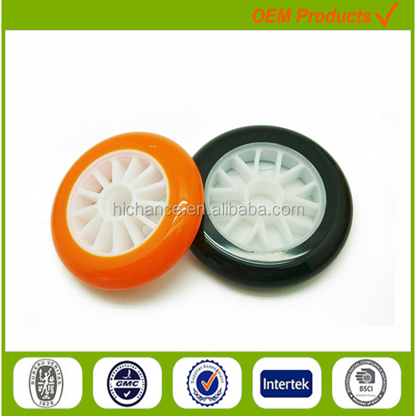 Multi Color progressive Grip diamond grinding motorized scooter wheels