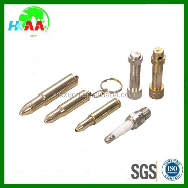 OEM high precision customized small metal smoking pipes parts
