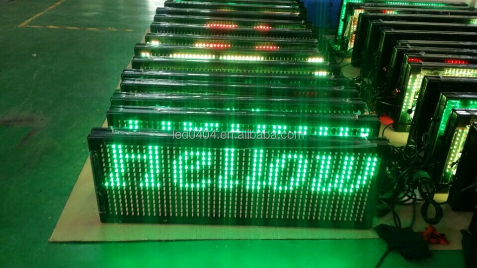 2015 programmable LED sign/LED moving message display board/Advertising LED board electronic information board