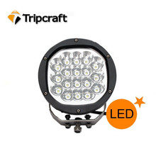 Waterproof High Quality Offroad LED Driving Light, 90w LED Headlight Round Auto Car Off-road LED Spotlight