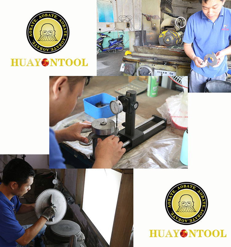 Thin kerf Saw Blade Cutting aluminum extruded profiles and bars