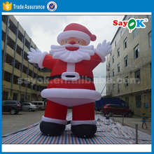 25ft christmas inflatable santa claus outdoor inflatable christmas figure