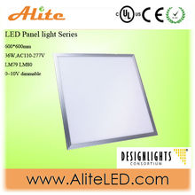 DLC/Energy star approved led panel light with 5years warranty ,>85lm/w