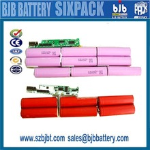 High quality 18650 battery ,Laptop battery manufacturer for Dell Li-ion Battery